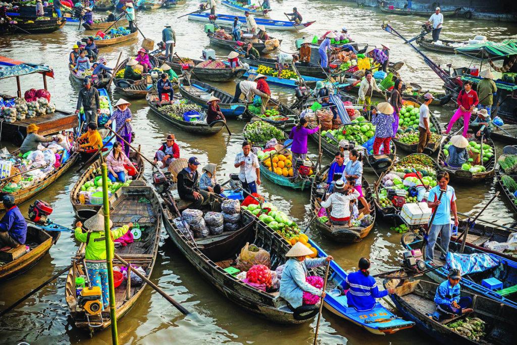 Chợ nổi Cái Bè - Du lịch Tiền Giang
