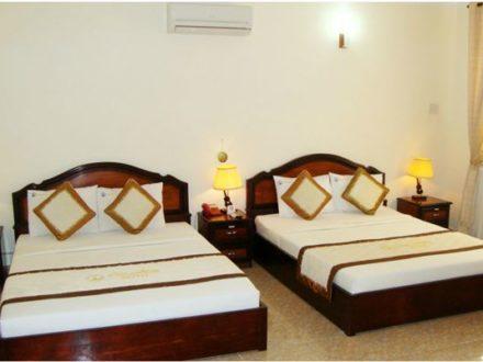 Phòng Deluxe Khách sạn Hàm Luông - Du lịch Bến Tre Tiền Giang