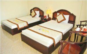 Phòng Standard Khách sạn Hàm Luông - Du lịch Bến Tre Tiền Giang