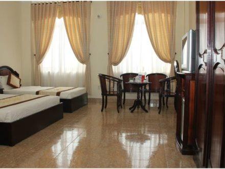 Phòng Superior Khách sạn Hàm Luông - Du lịch Bến Tre Tiền Giang