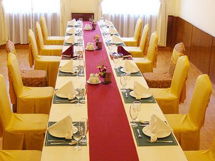 Phòng ăn vip Khách sạn Hàm Luông - Du lịch Bến Tre Tiền Giang