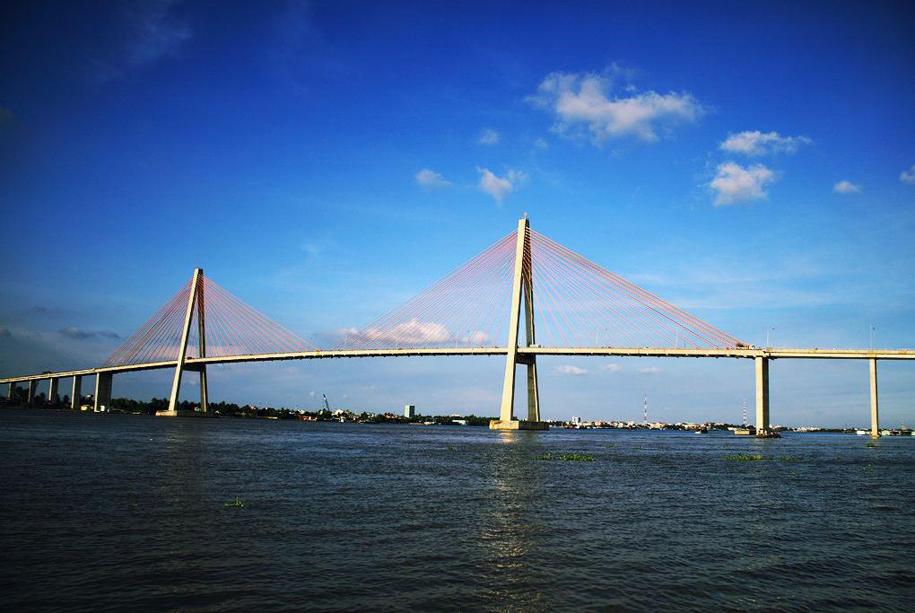 Cầu Rạch Miễu - Du lịch Bến Tre Tiền Giang