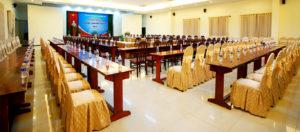Phòng hội nghị Khách sạn Hàm Luông - Du lịch Bến Tre Tiền Giang