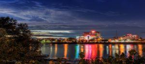 Thành Phố Bến Tre về đêm - Du lịch Bến Tre Tiền Giang