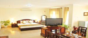 Phòng Suite Khách sạn Hàm Luông - Du lịch Bến Tre Tiền Giang