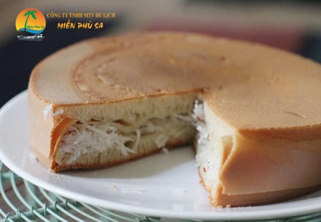 Bánh Bò Dừa Nướng - Đặc sản Bến Tre