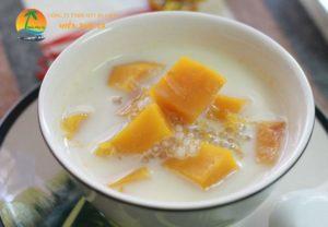 Chè bí đỏ nước cốt dừa - Đặc sản Bến Tre
