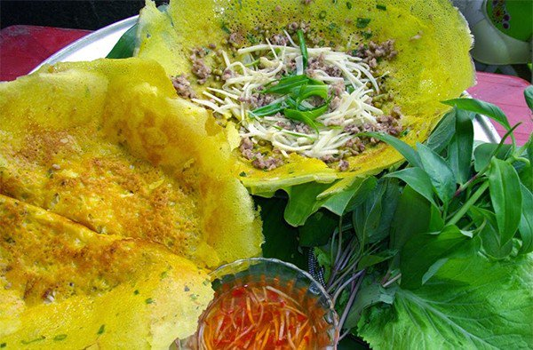 Bánh Xèo ốc gạo đặc sản Bến Tre
