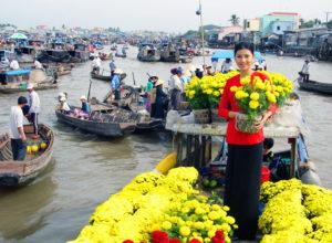 Chợ nổi Cái Bè - Cù lao Tân Phong Tiền Giang