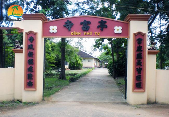 Đình Phú Tự Tp Bến Tre - Du lịch Bến Tre