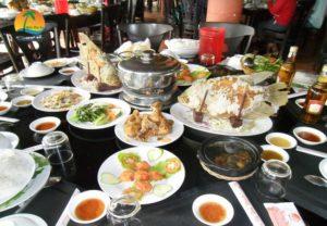 Ẩm thực miệt vườn - Du lịch Bến Tre Tiền Giang