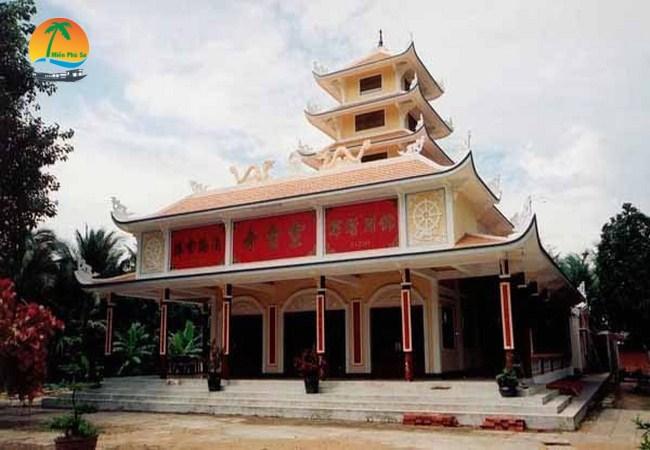 Chùa Tuyên Linh - Du lịch Bến Tre