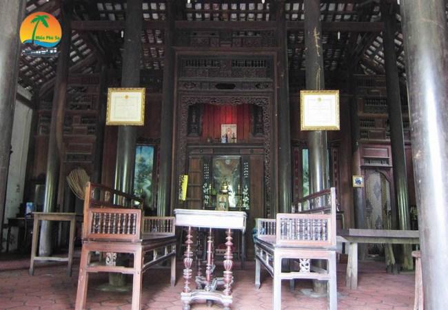Di tích nhà cổ Huỳnh Phủ - Hương Liêm - Du lịch Bến Tre