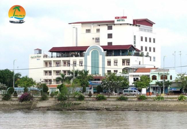 Khách sạn Hàm Luông - Du lịch Bến Tre