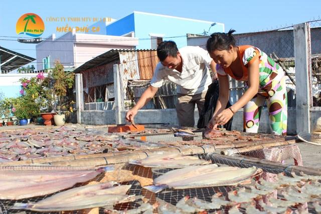 Làng nghề cá khô An Thủy - Du lịch Bến Tre Tiền Giang