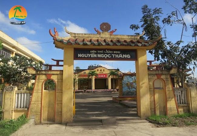 Mộ và đền thờ lãnh binh Nguyễn Ngọc Thăng - Du lịch Bến Tre