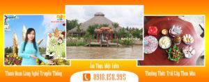 Tour Du lịch tham quan Cù Lao Thới Sơn