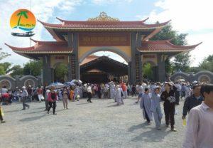 Thiền Viện Trúc Lâm Chánh Giác tiền giang - Du lịch Tiền Giang