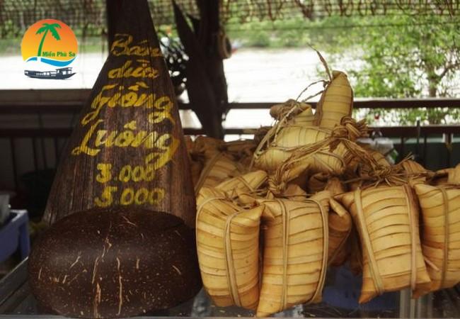 Bánh dừa Giồng Luông - Du lịch Bến Tre