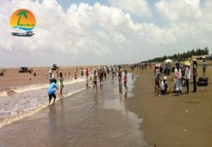 Biển Cồn Bửng huyện Thạnh Phú - Du lịch Bến Tre