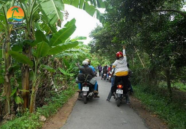 Du lịch Tiền Giang bằng Xe Máy - Du lịch Tiền Giang