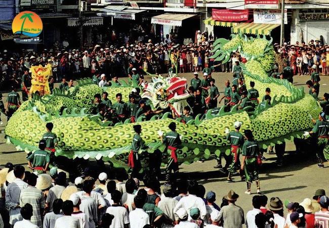 Lễ hội nghinh ông - Du lịch Bến Tre