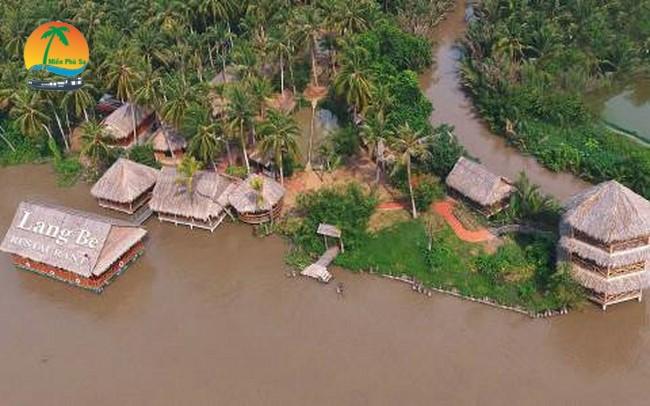 Khu du lịch Làng Bè Bến Tre - Du lịch Bến Tre Tiền Giang