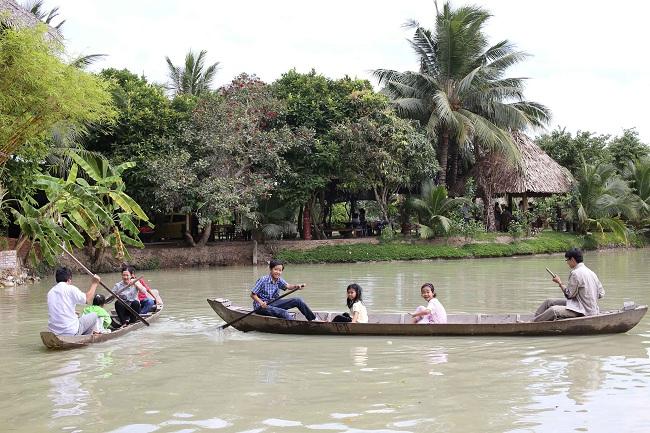 Khu du lịch Lan Vương Bến Tre