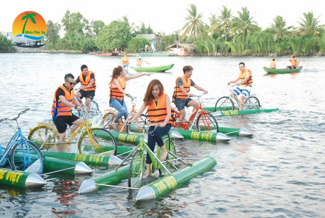 Làng du lịch Tre Việt - Du lịch Bến Tre Tiền Giang