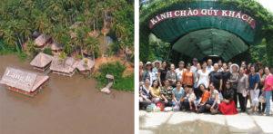 So sánh khu du lịch Làng Bè và Lan Vương Bến Tre