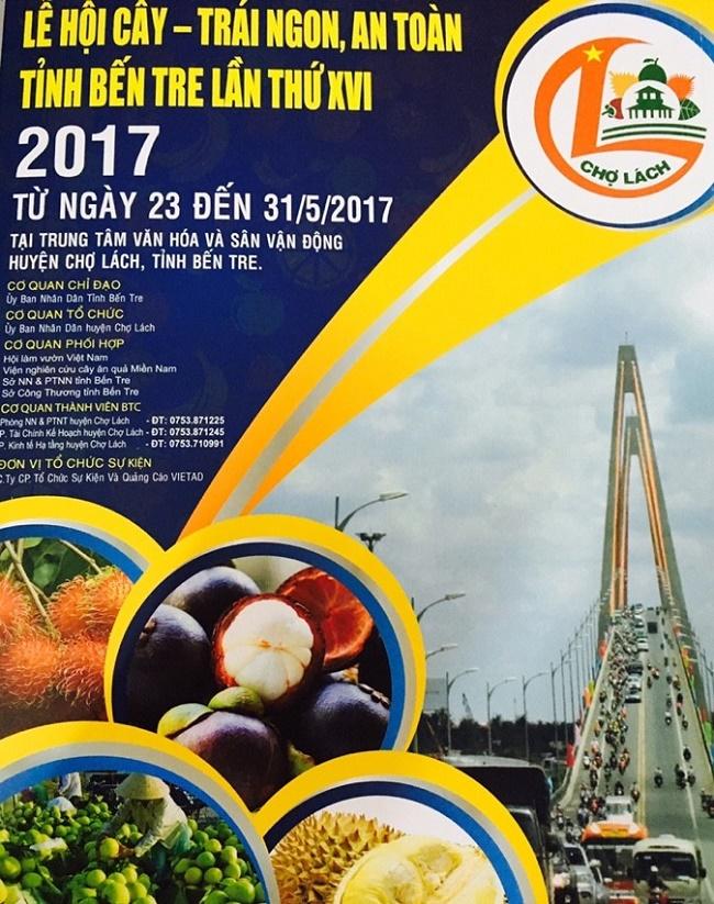 Lễ Hội Trái Cây Chợ Lách Bến Tre 2017