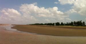 Bãi biển Cồn Bửng Thạnh Phú Bến Tre