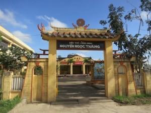 Di tích lịch sử Đền thờ và mộ Lãnh binh Nguyễn Ngọc Thăng