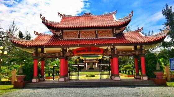 Khu di tích lịch sử Mộ và khu tưởng niệm Nguyễn Đình Chiểu