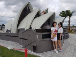Mô hình nhà hát Opera Sydney