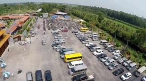 Bãi giữ xe Khu du lịch văn hóa Phương Nam