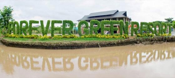 Khu Forever Green Resort - Châu Thành Bến Tre