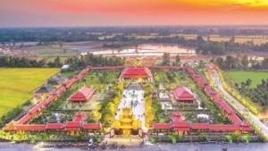 Toàn cảnh Khu Du lịch Văn hóa Phương Nam