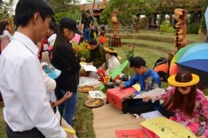 lễ hội theo nghi thức truyền thống