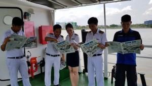 Nhân viên Tàu cao tốc tuyến Bến Tre - Vũng Tàu