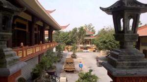 Bên trong Thiền viện Trúc Lâm Chánh Giác Tiền Giang