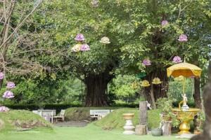 Khuôn viên Thiền viện Trúc Lâm Chánh Giác Tiền Giang