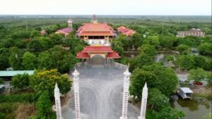 Thiền Viện Trúc Lâm Chánh Giác Nhìn Từ Trên Cao