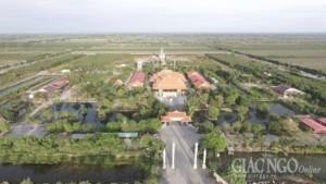 Toàn cảnh Thiền viện Trúc Lâm Chánh Giác Tiền Giang